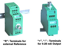 Very Compact DIN Rail-mounting Transmitter for pH