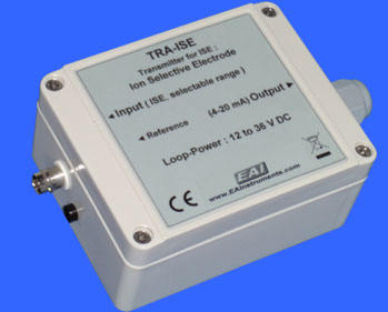 Wall-mounting Industrial Transmitter for Ion-Selective Electrode