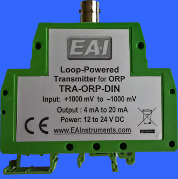 Very Compact DIN Rail-mounting Industrial Transmitter for pH